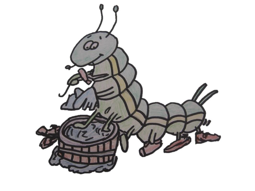 The Working Caterpillar