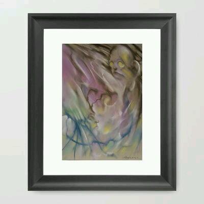 Untitled Pastel Work