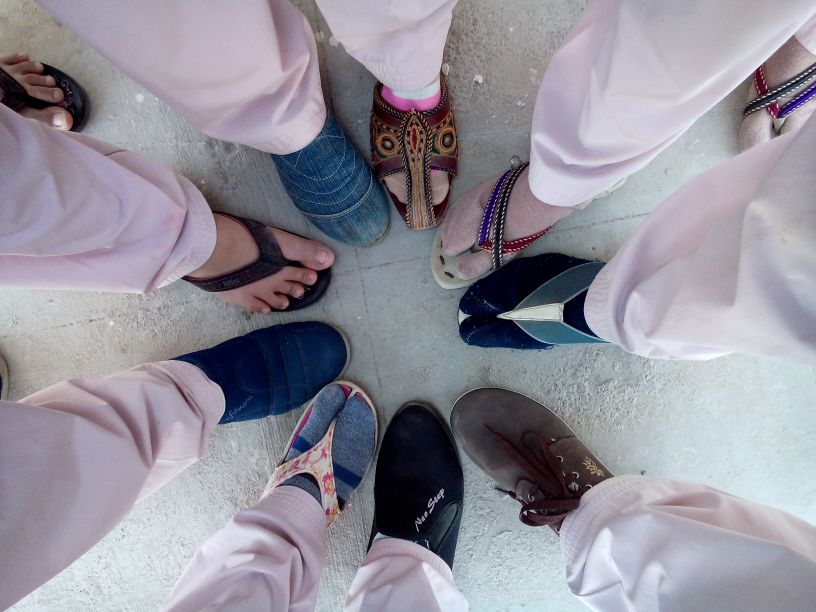 its all about foot wears…