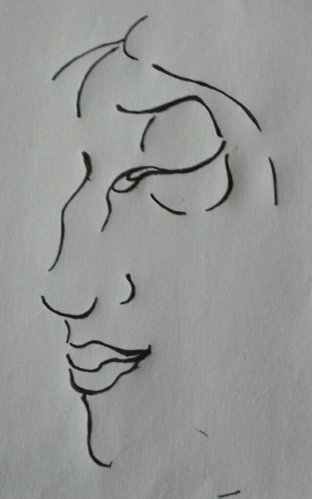Side of face