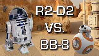 R2-D2 VS BB-8