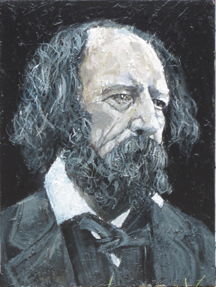 Portrait of Alfred Lord Tennyson
