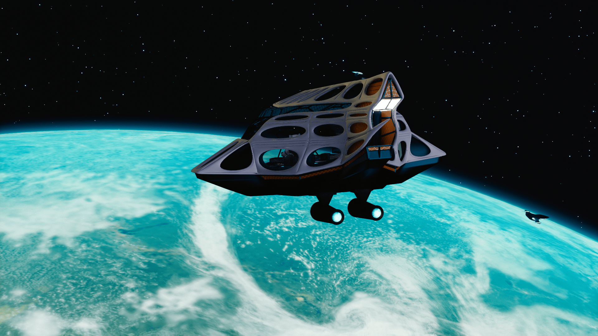 Space Oddity My 3D animated film about space