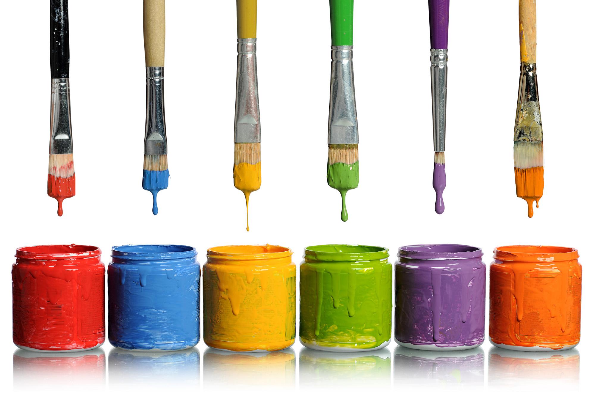 Paper and Paint Retro Art Creative Designs