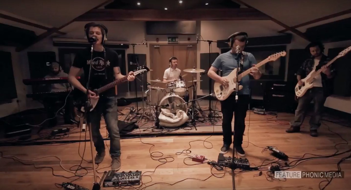 The Gas Panic  Everybody Knows Live at SSR Studios Manchester