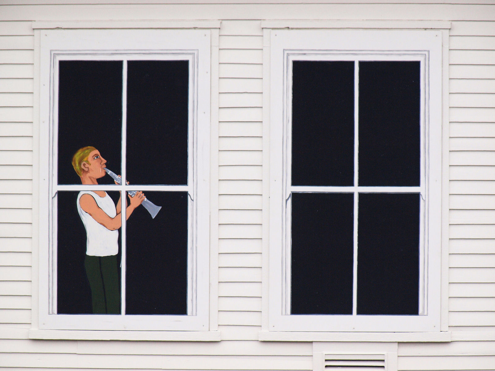 Windows of Ft Seward
