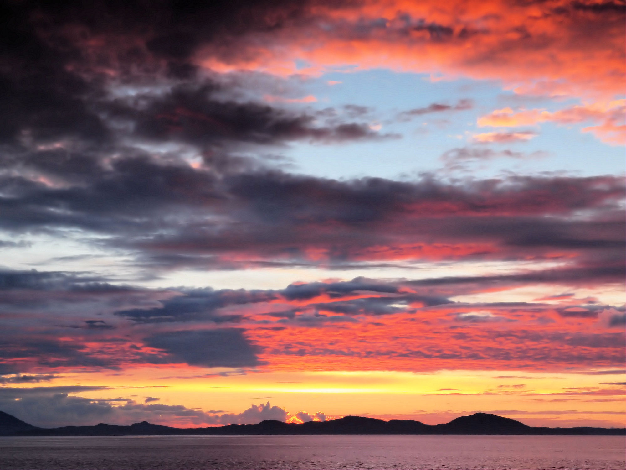 Sunset Trio