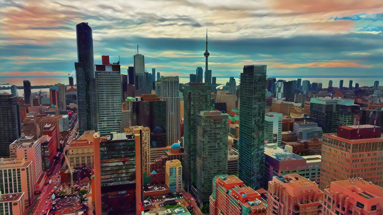 Toronto digital art images