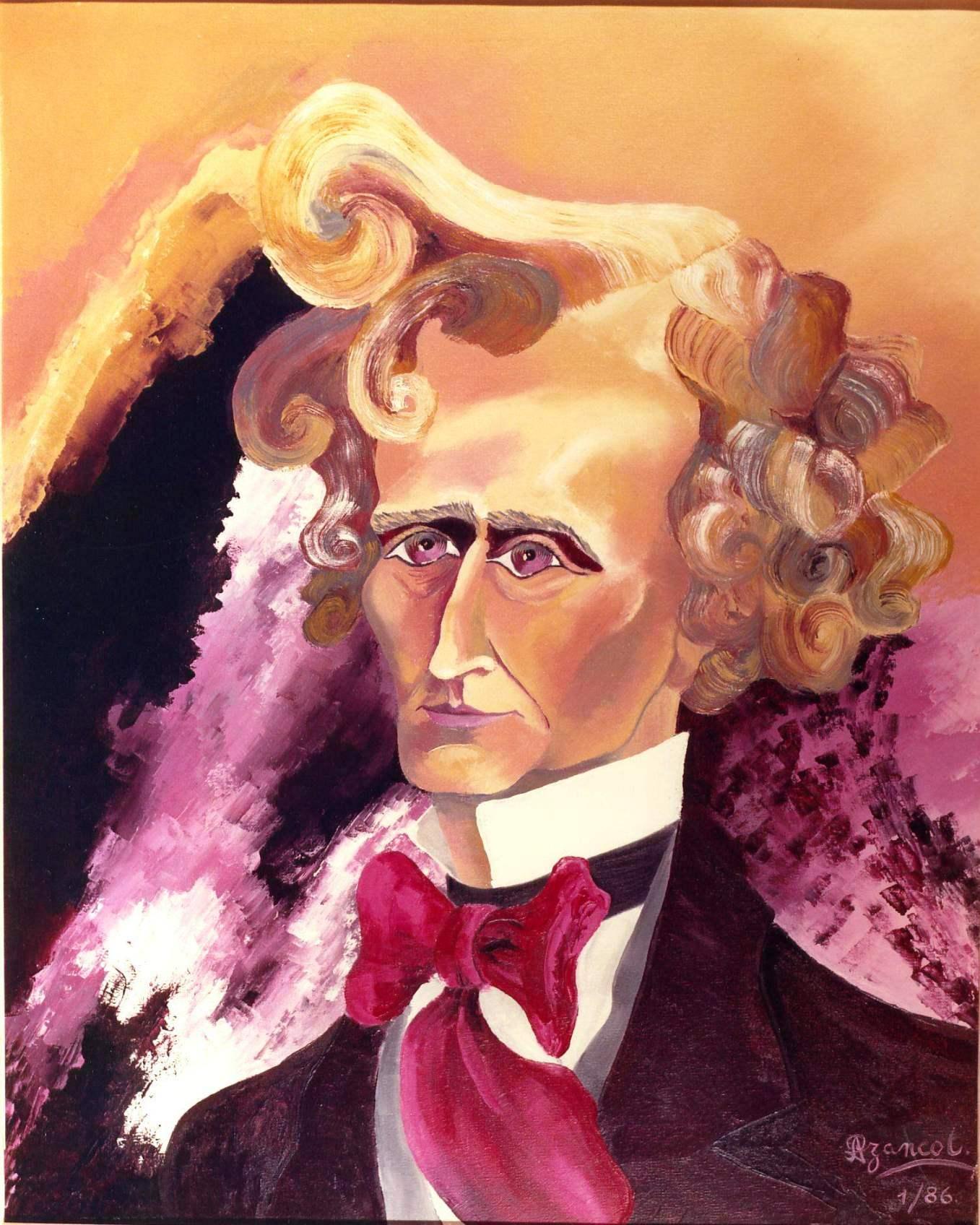 Louis HÉCTOR BERLIOZ portrait