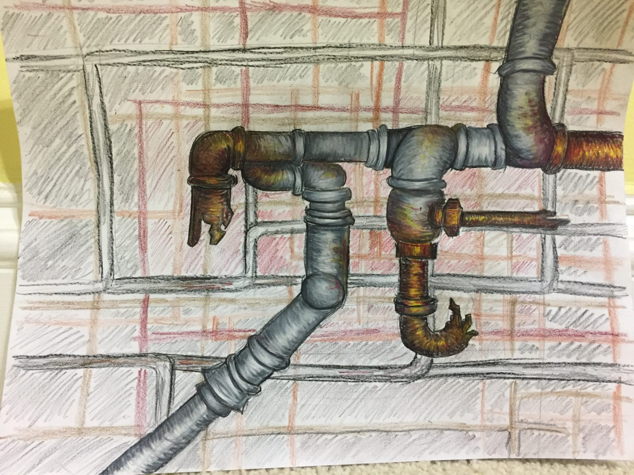 History of Pi: old pipes