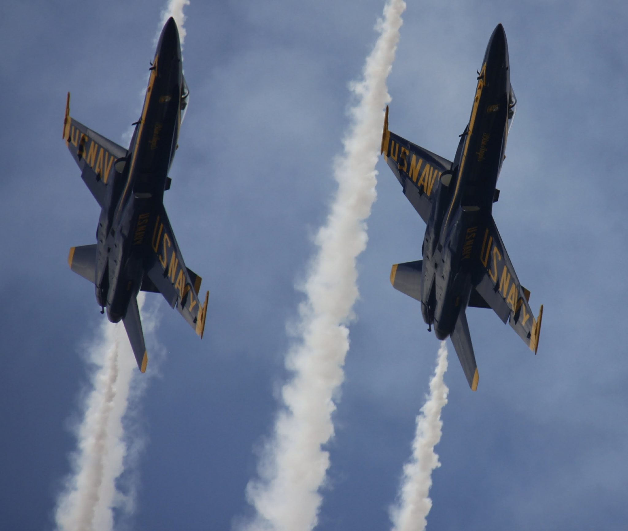 The Blue Angels take the skies in Vero