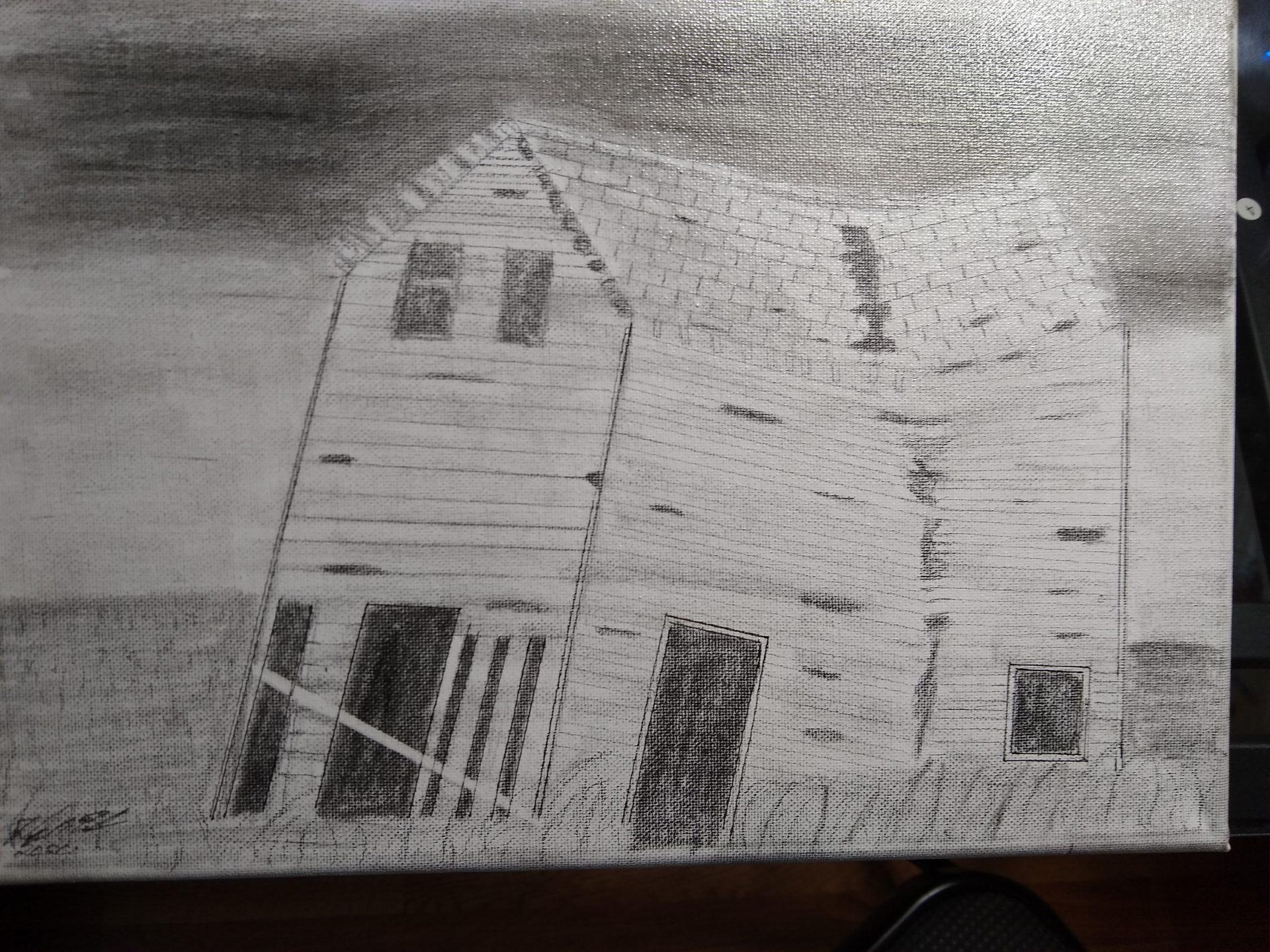 Old abandon house