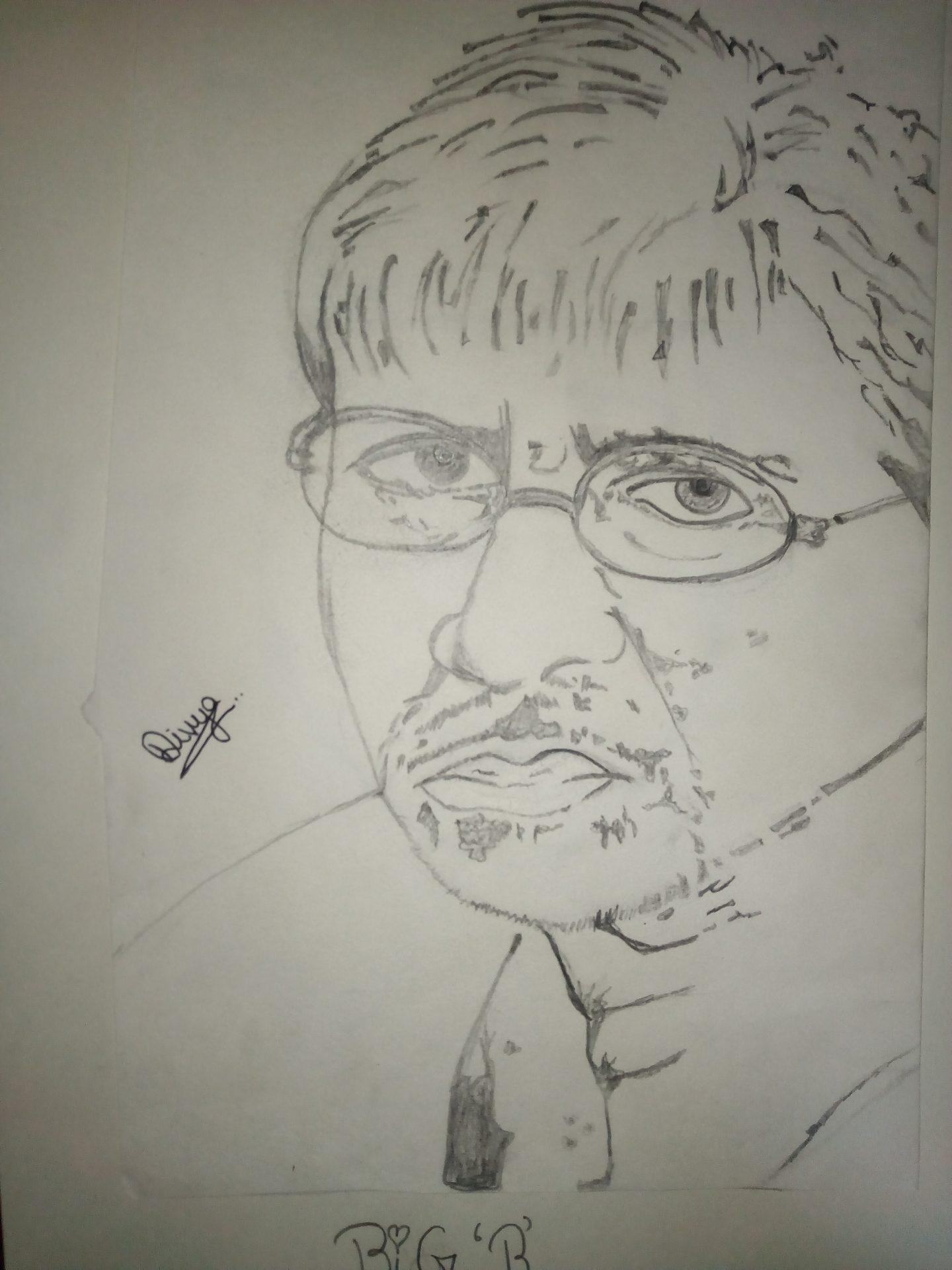 Amitabh Bachchan Portrait