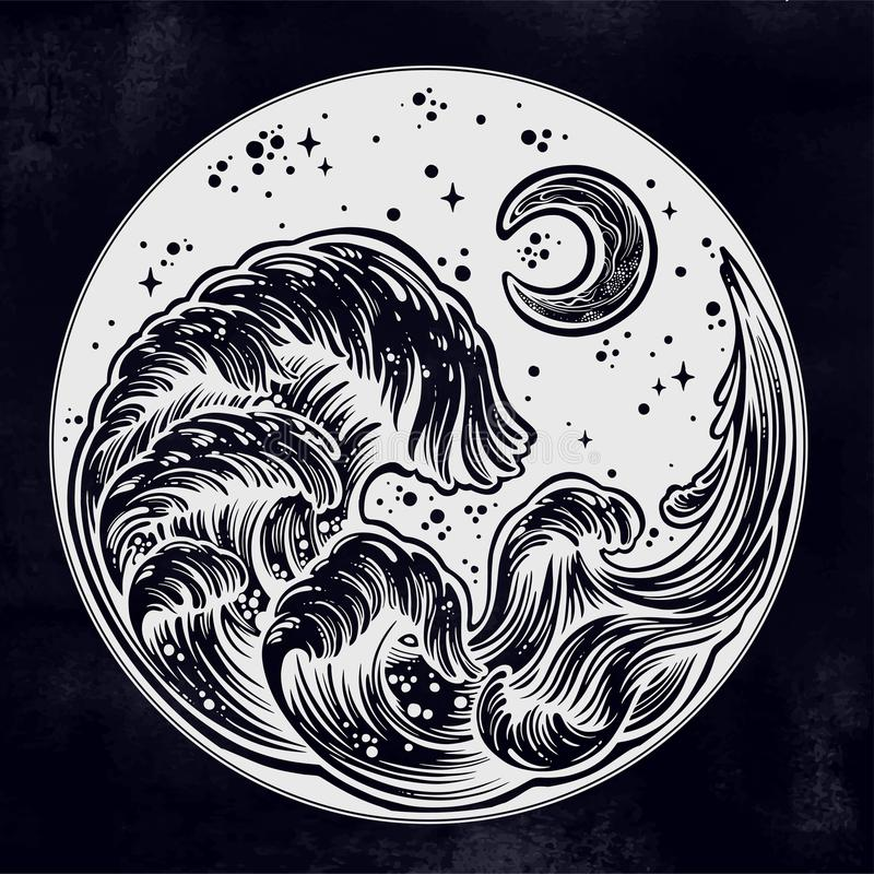 Mother and the Moon